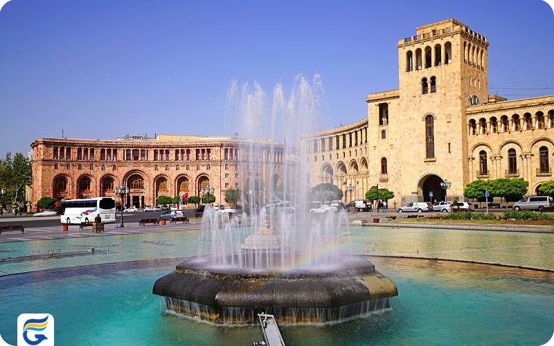 بلیط رفت و برگشت ارمنستان ایروان