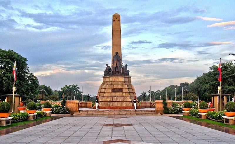 پارک ریزال فیلیپین و خرید پروازهای فیلیپین