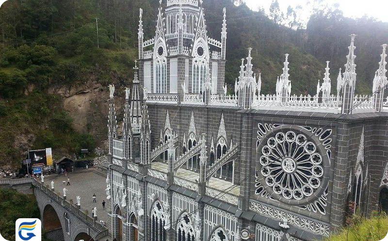 سانتوریو دو لاس لاجاس کلمبیا Santuario de Las Lajas- خرید آنلاین بلیط کلمبیا