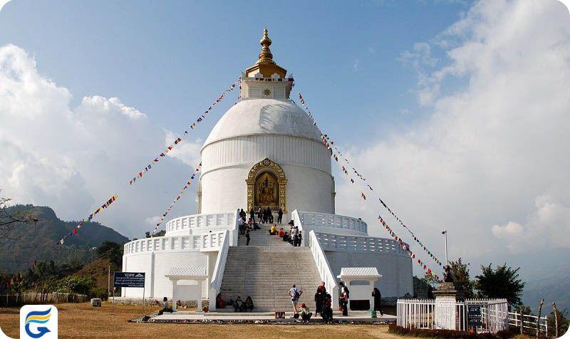 هزینه بلیط و مبلغ بلیط نپال - شانتی ستوپا پوخارا نپال Shanti Stupa, Pokhara