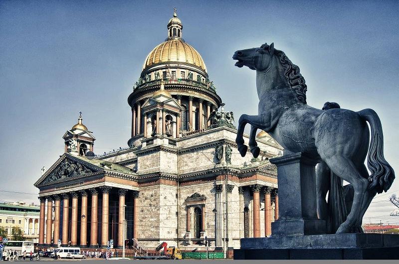 کلیسای سنت ایزاک روسیه و ارزانترین قیمت بلیط روسیه