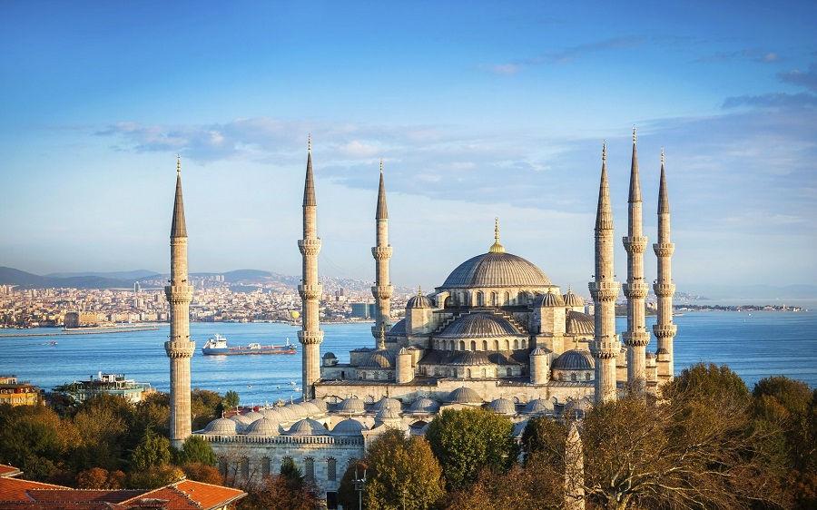 مسجد آبی ترکیه The Blue Mosque
