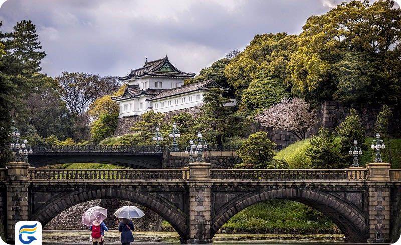 کاخ امپراطوری ژاپن The Imperial Palace- رزرو آنلاین بلیط ژاپن