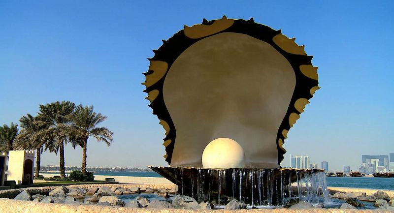 بنای یادبود مروارید و رزرو اینترنتی بلیط قطر