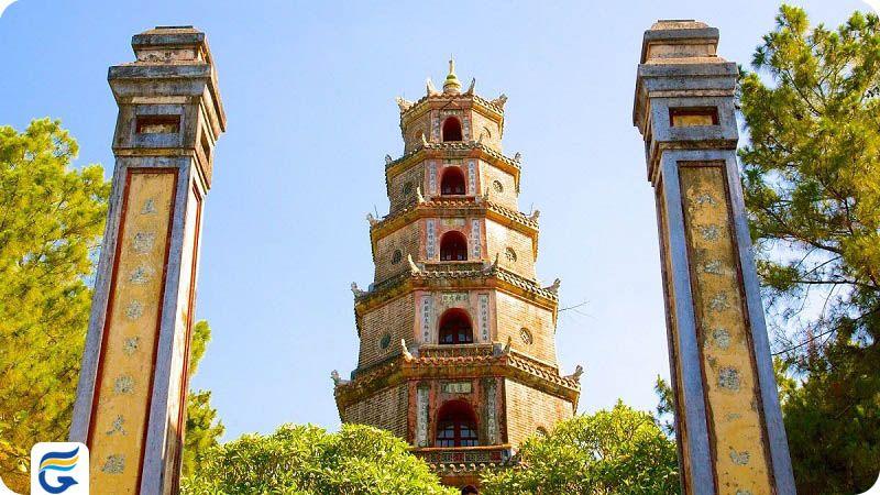 تین مو پاگودا ویتنام Thien Mu Pagoda- قیمت بلیط ویتنام