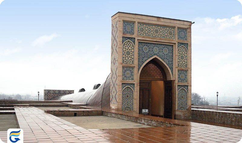 بلیط تهران و مشهد به ازبکستان