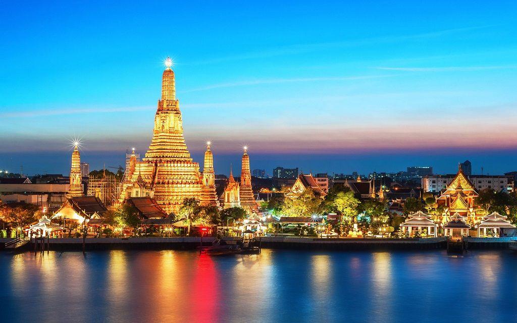 معبد وات آرون تایلند - خرید بلیط هواپیما تایلند