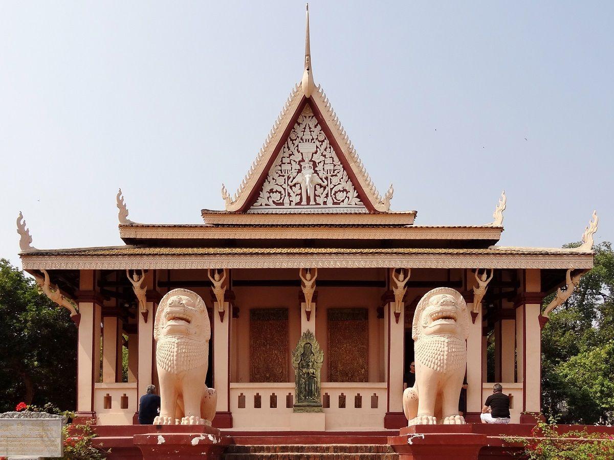 وات فانوم کامبوج Wat Phnom - بلیط چارتر تهران کامبوج