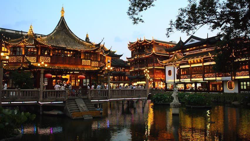باغ یو چین - بلیط ارزان قیمت هواپیما چین