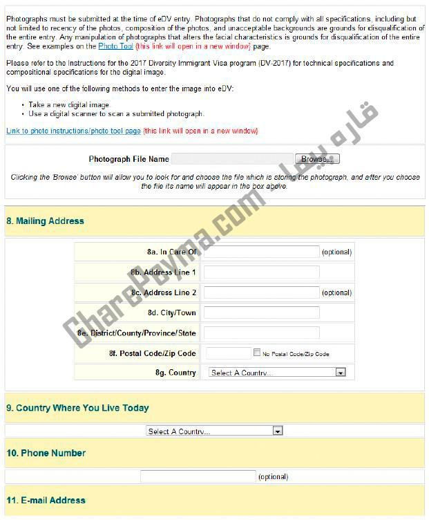 آموزش نحوه ثبت نام در لاتاری گرین کارت آمریکا 2021