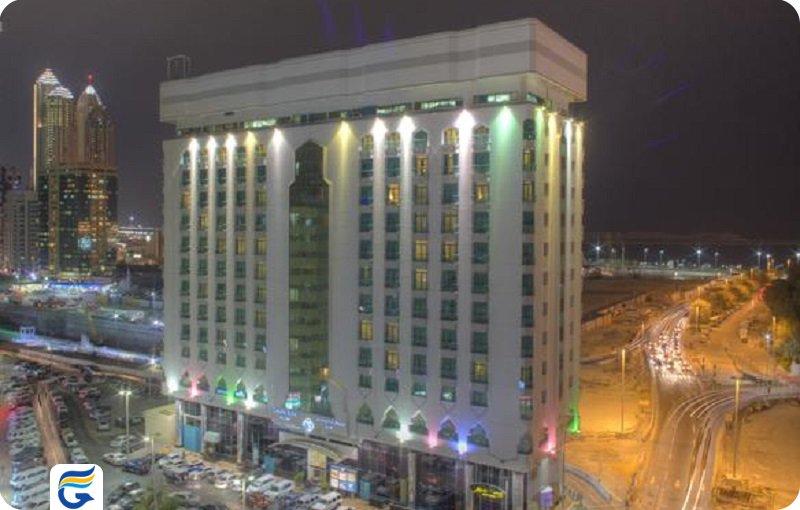 هتل آل دیار کاپیتال ابوظبی Al Diar Capital Hotel - لیست هتل های 3 ستاره ابوظبی
