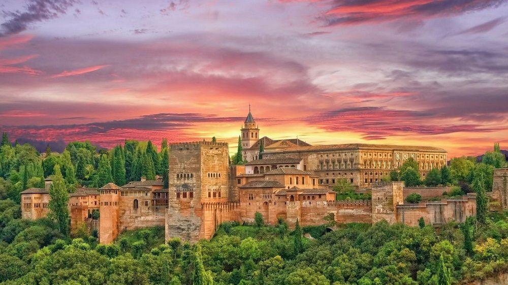 قیمت بلیط یک طرفه اسپانیا ماهان - الحمرا اسپانیا Alhambra