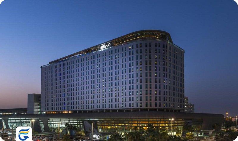 هتل آلوفت ابوظبی Aloft Abu Dhabi hotel - کمترین قیمت هتل های 4 ستاره ابوظبی