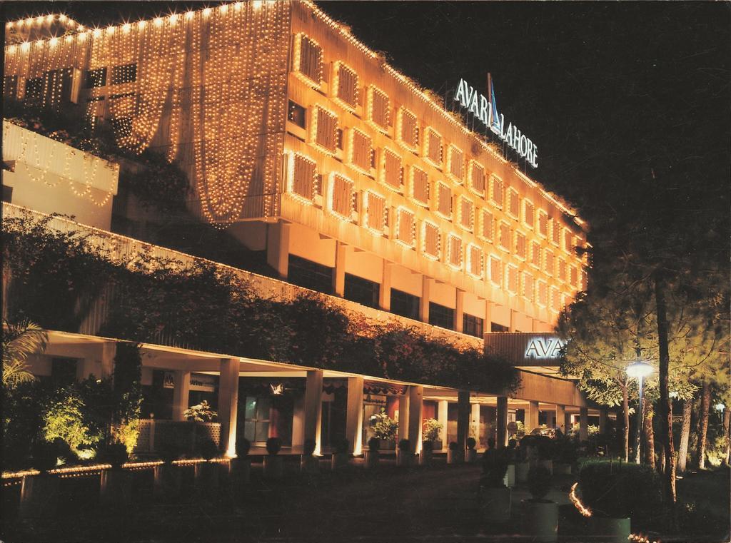 هتل آواری لاهور - لیست قیمت هتل های 5 ستاره لاهور