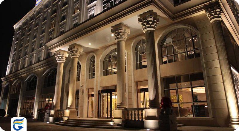 لیست قیمت هتل های 4 ستاره پکن چین
