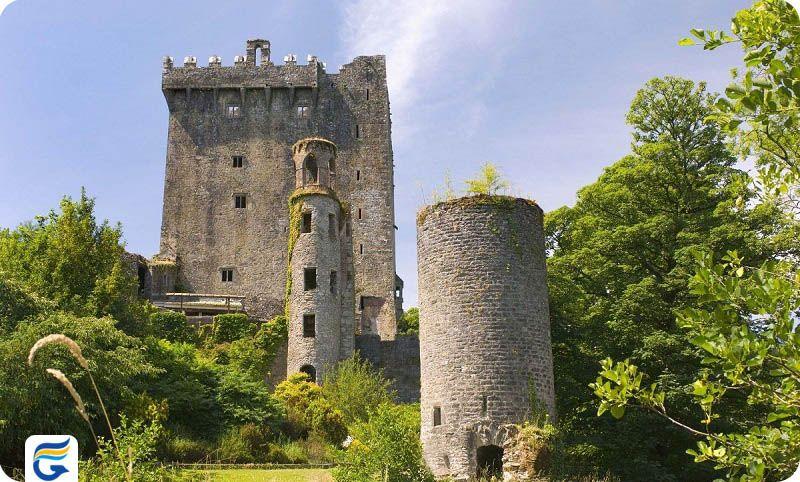بلیط های مستقیم ایرلند - قلعه بلارنی ایرلند Blarney Castle