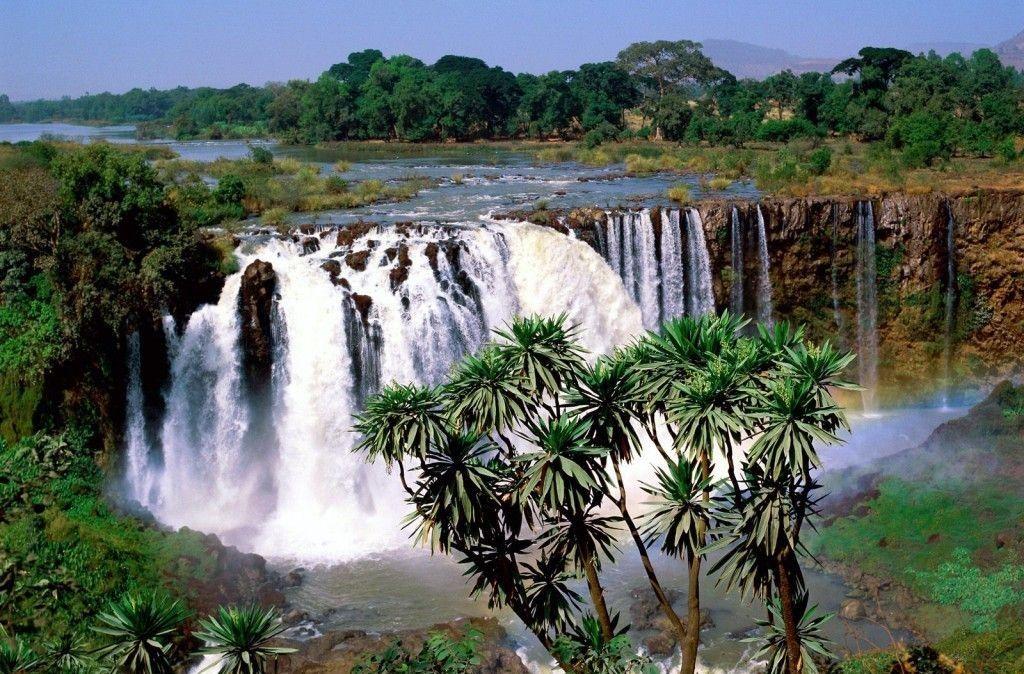 آبشار نیل آبی اتیوپی Blue Nile Falls- روزهای و برنامه پروازهای اتیوپی