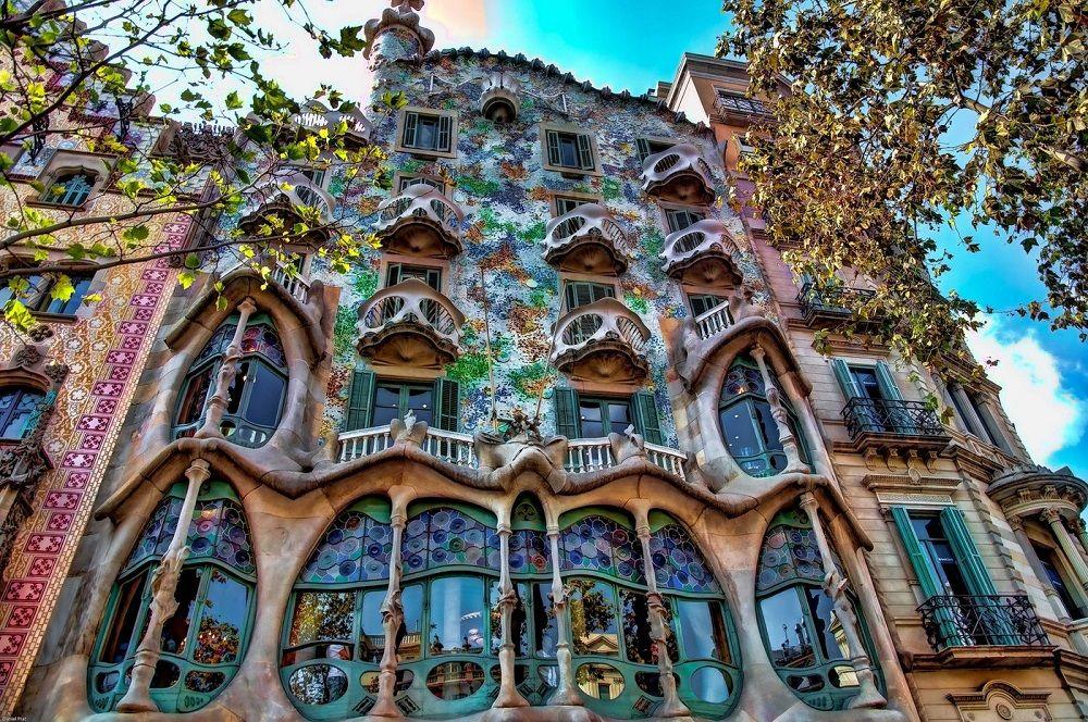 ارزانترین نرخ پروازهای اسپانیا - کاسا باتلو پرتغال Casa Batlló