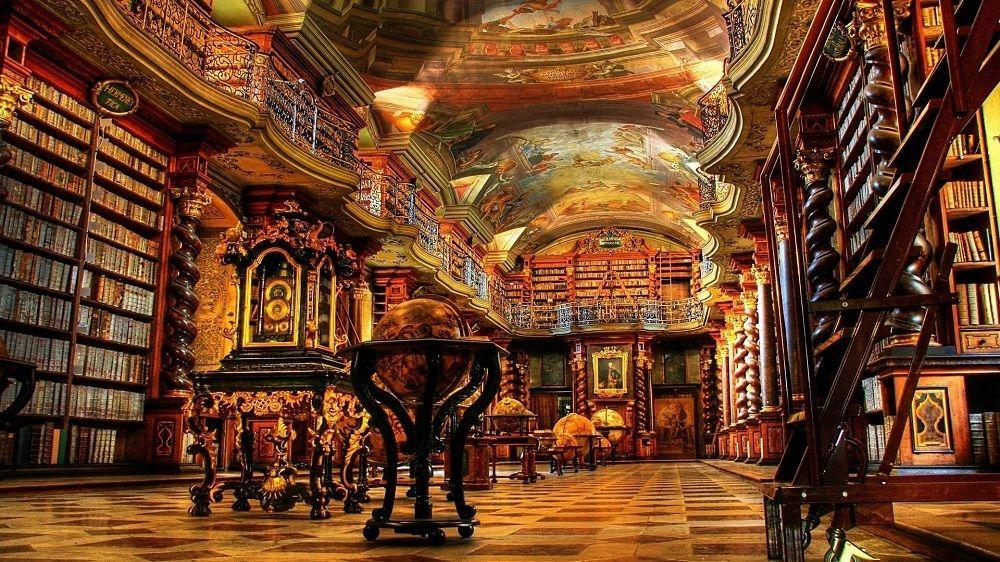 کتابخانه کلمنتیوم کشور چک Clementium Library - ارزانترین قیمت بلیط جمهوری چک