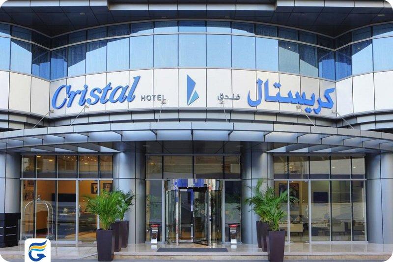 هتل کرسیتال ابوظبی Cristal Hotel Abu Dhabi- قیمت هتل در ابوظبی