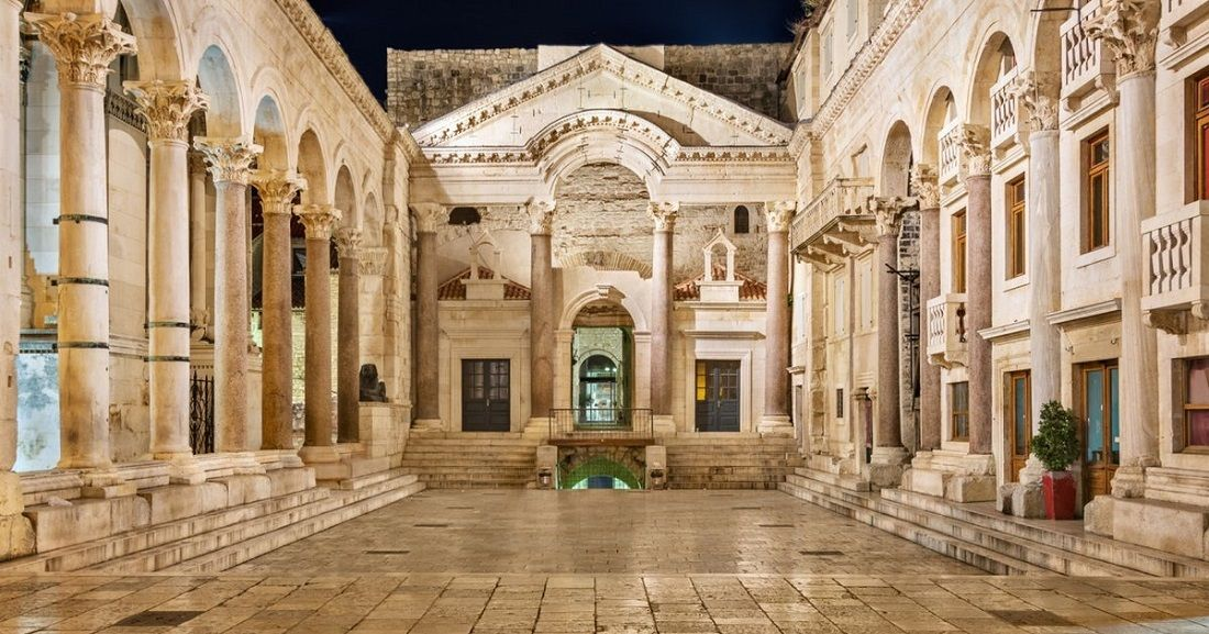 کاخ دیوکلتین کرواسی Diocletian's Palace - خرید اینترنتی بلیط کرواسی