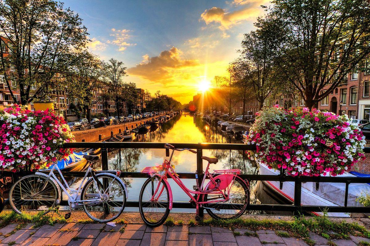 گذرگاه های آبی هلند Dutch waterways - قیمت بلیط چارتر هلند
