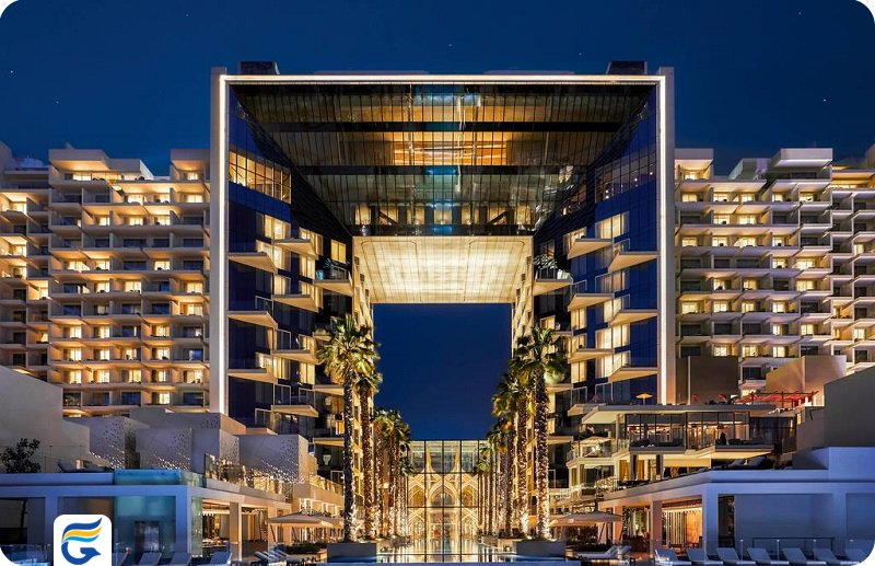 هتل فایو پالم جمیرا ابوظبی FIVE Palm Jumeirah Hotel- خرید اینترنتی هتل های ابوظبی - اجاره سوئیت در ابوظبی