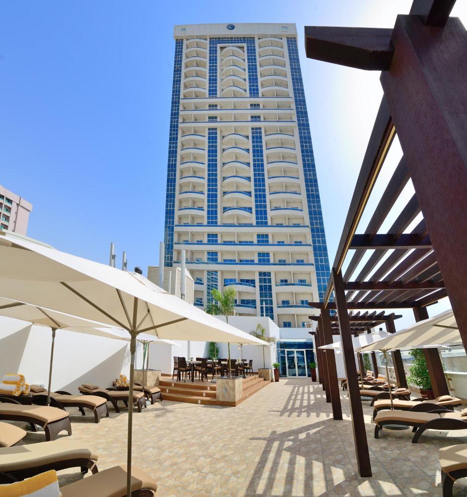 هتل گلدن سندز شارجه golden sands hotel sharjah- ارزانترین هتل 4 ستاره در شارجه - اجازه آپارتمان در شارجه