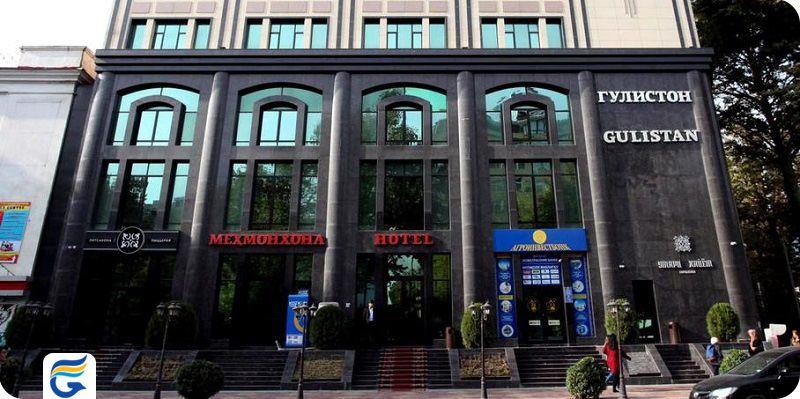 هتل گلستان تور دوشنبه - لیست قیمت هتل های دوشنبه