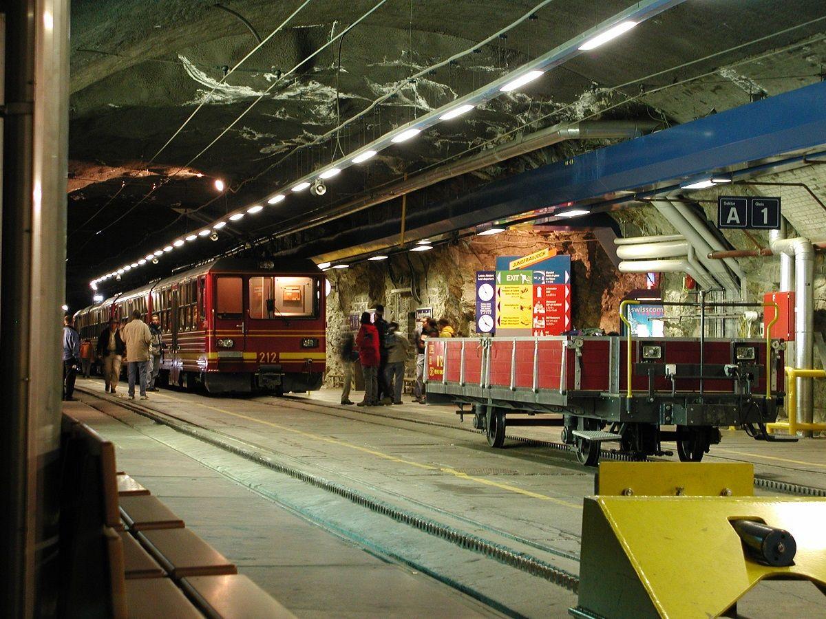 ایستگاه قطار جانگ فراو Jungfrau train station - نرخ بلیط هواپیما سوئیس
