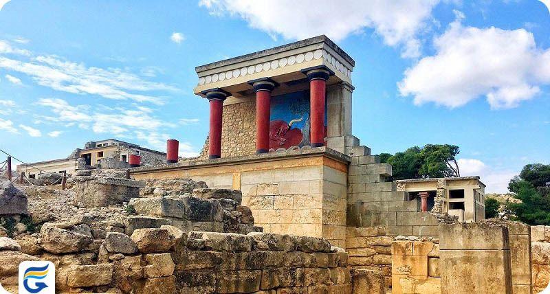 کمترین نرخ پروازهای یونان - کنوسوس یونان Knossos