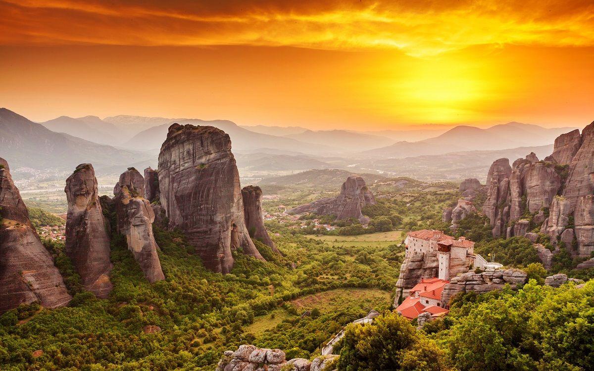 رزرو آنلاین پروازهای یونان - صومعه های متئورا یونان Meteora Monasteries