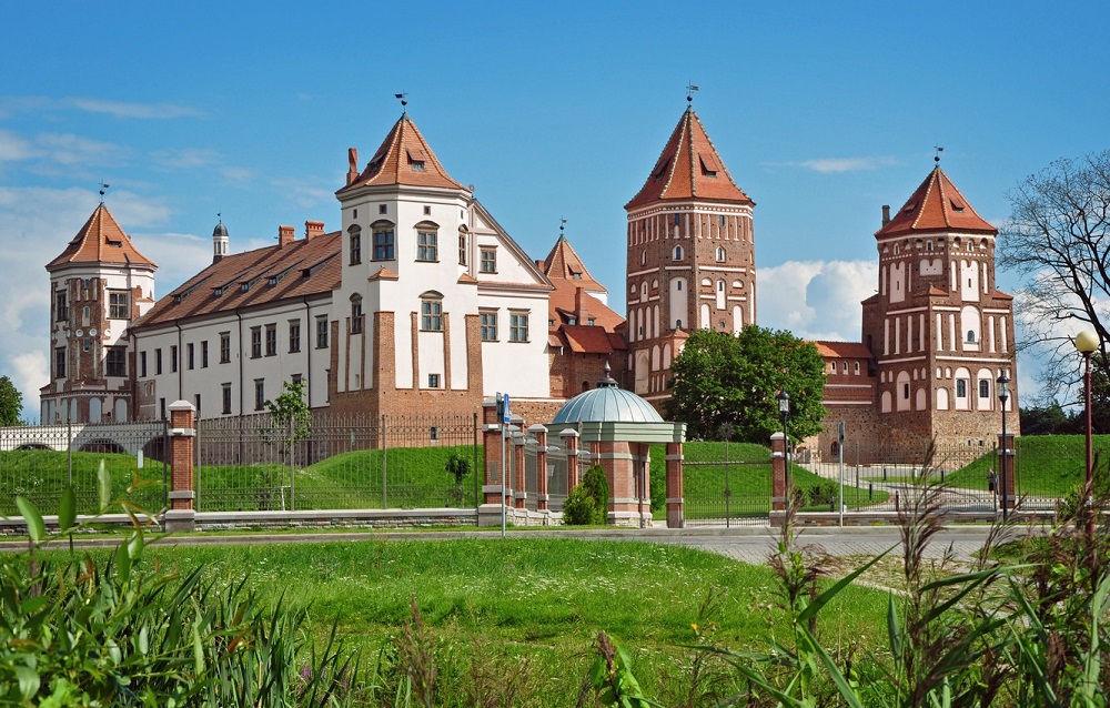 مجتمع قلعه میر بلاروس Mir Castle Complex