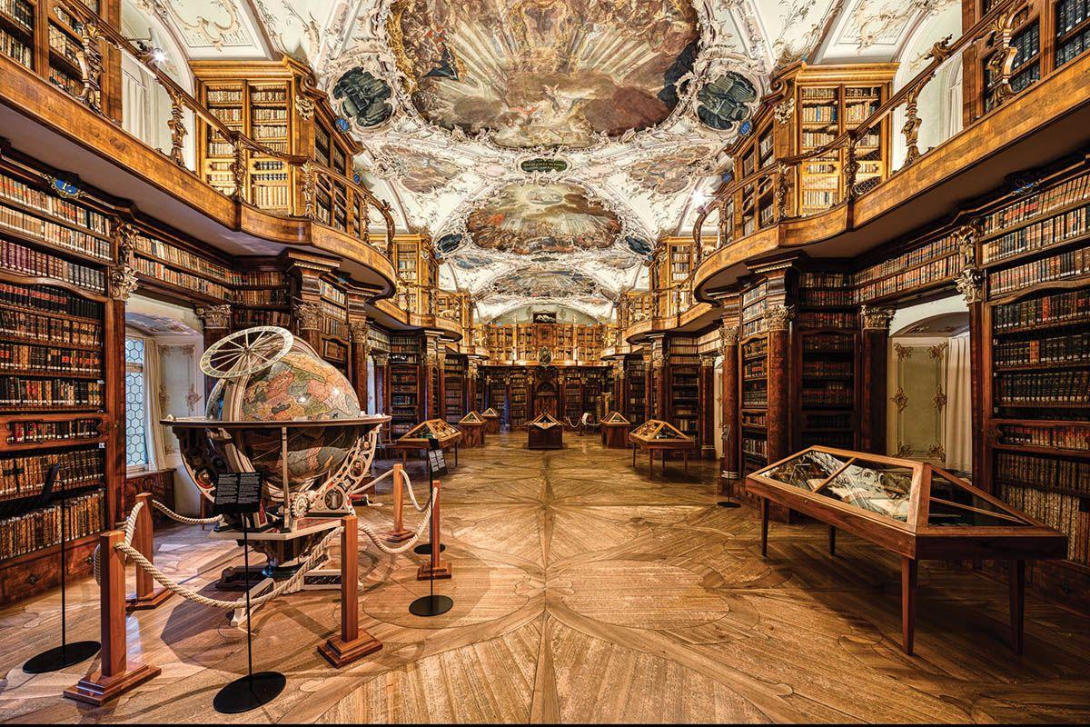 کتابخانه صومعه - سنت گالن Monastery Library - St. Gallen | رزرو اینترنتی بلیط سوئیس