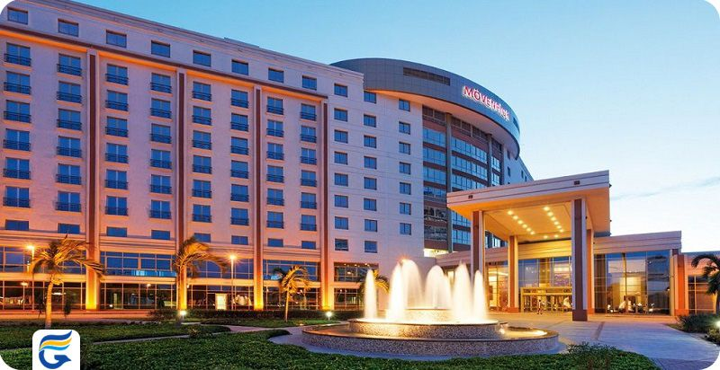 هتل مونپیک کراچی - بهترین هتل های مرکز شهر کراچی