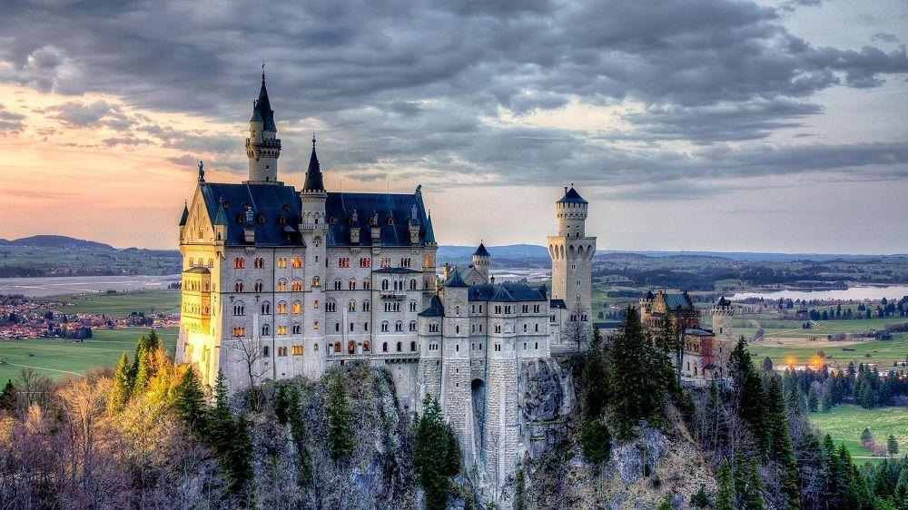 بلیط ارزان هواپیما آلمان - قلعه نوی شوان اشتاین آلمان