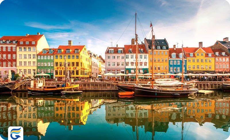 اطلاعات پروازهای دانمارک