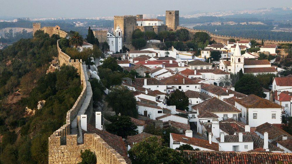 کمتریین نره پروازهای پرتغال - قلعه اوبیدوس پرتغال Obidos Castle