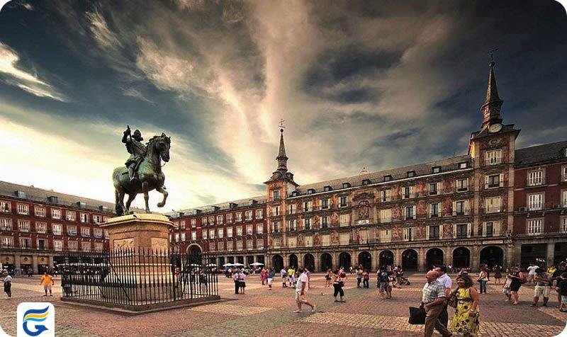 رزرو آنلاین و فروش بلیط هواپیما اسپانیا