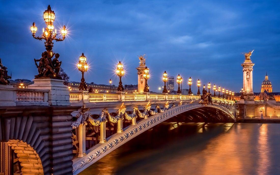 پونت الکساندر سوم Pont Alexandre III - رزرو اینترنتی پروازهای فرانسه