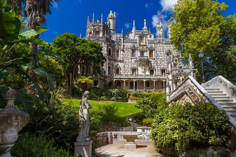 هزینه سفر هوایی به پرتغال - کوئینتا دا رگالریا پرتغال Quinta da Regaleira