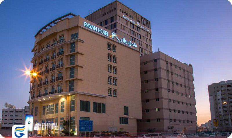 هتل رایان شارجه Rayan Hotel Sharjah- قیمت هتل های شارجه - اجاره سوئیت در شارجه