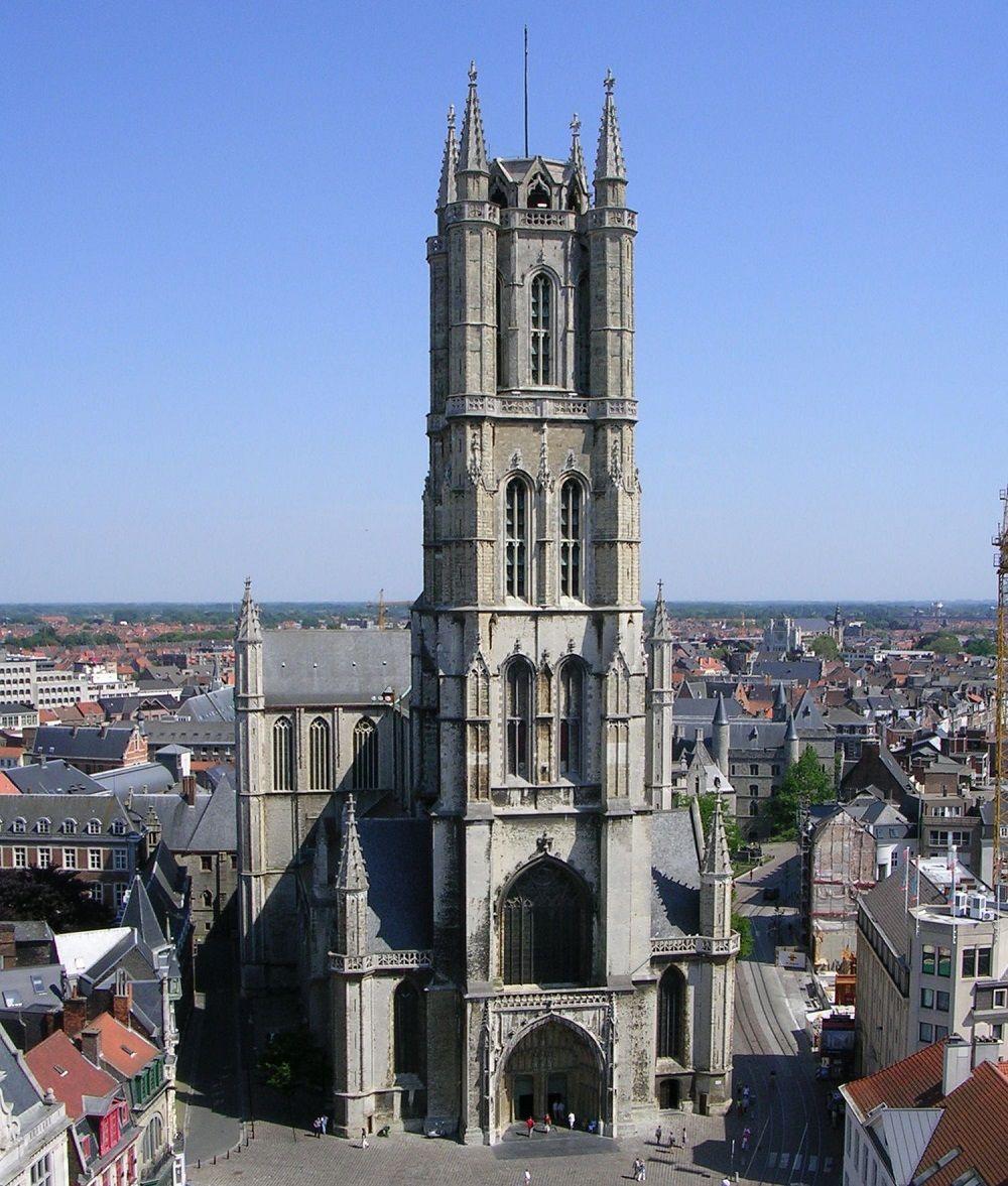 کلیسای جامع سنت باوو بلژیک Saint Bavo's Cathedral - رزرو بلیط ارزان بلژیک