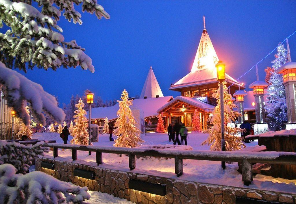 دهکده بابانوئل فنلاند Santa Claus Village - قیمت بلیط رفت و برگشت فنلاند