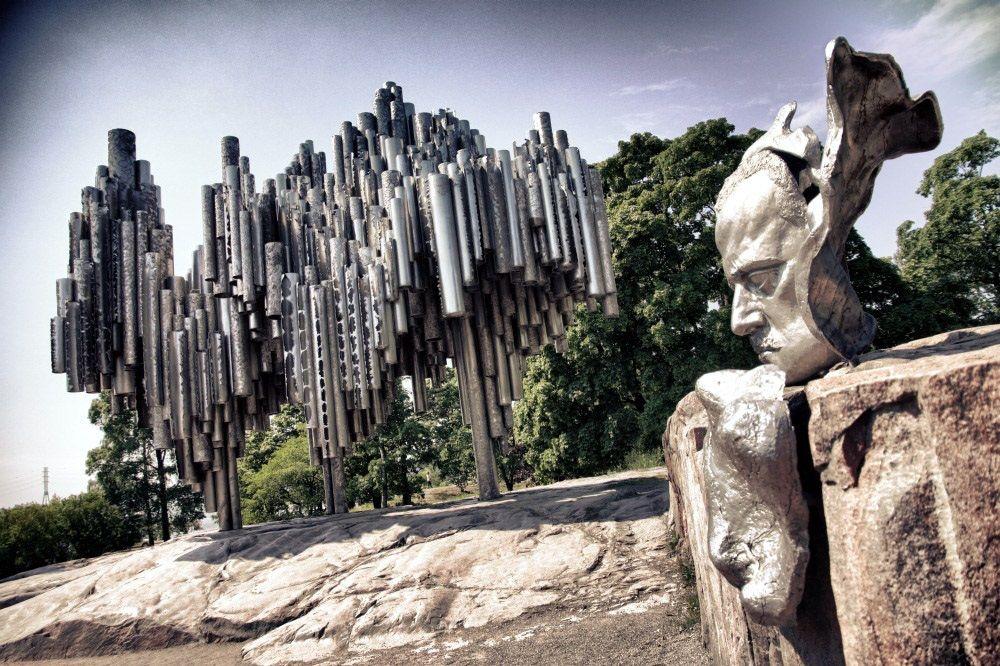 بنای تاریخی سیبلیوس فنلاند Sibelius Monument - بیشترین تخفیف پروازهای فنلاند