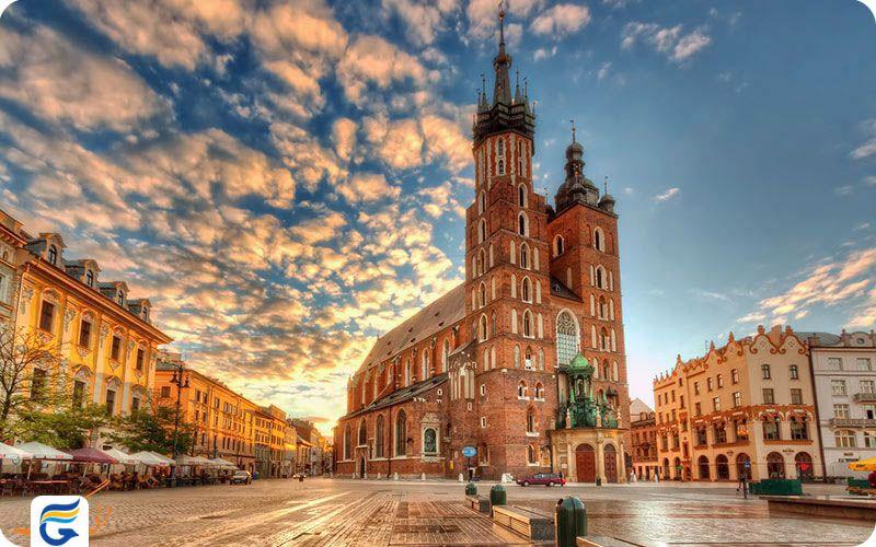 هزینه سفر هوایی با هواپیما به لهستان