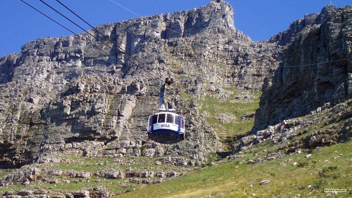 کوه تیبل آفریقای جنوبی Table Mountain- هزینه سفر هوایی به آفریقای جنوبی