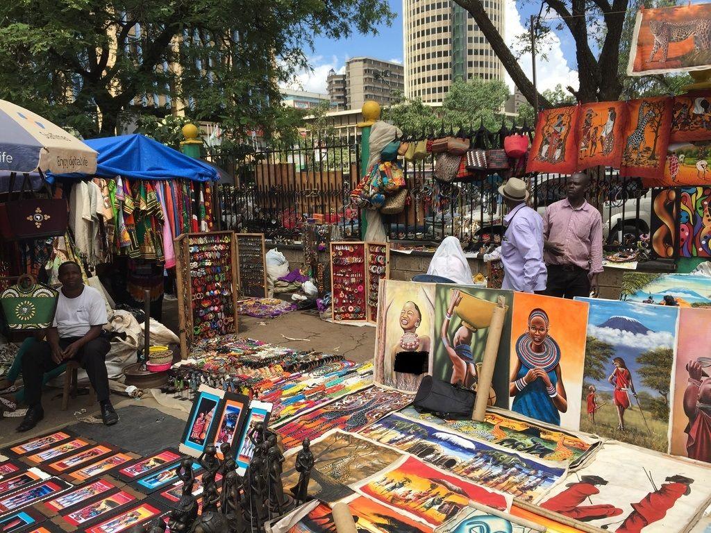 بازار ماسای کنیا The Maasai Market- بلیط هواپیما کنیا