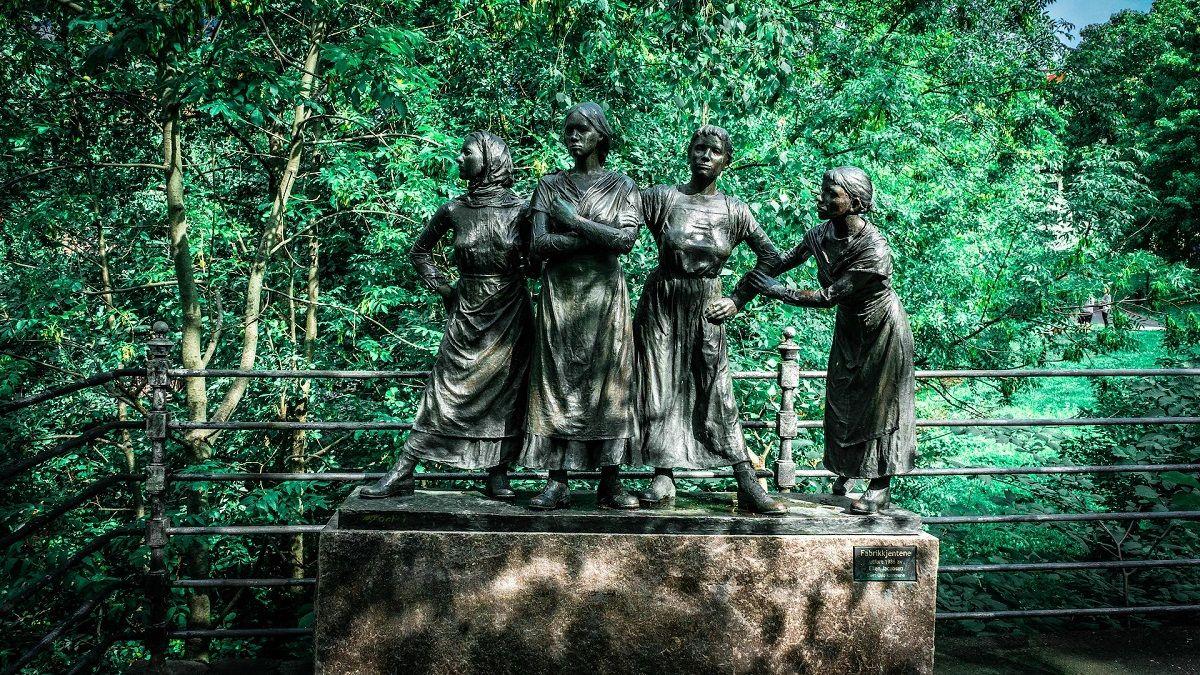 رزرو اینترنتی بلیط نروژ - پارک ویگلند نروژ The Vigeland Park