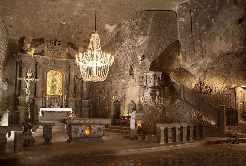 معدن نمک ویلیچکا لهستان Wieliczka Salt Mine - رزرو بلیط هواپیما لهستان